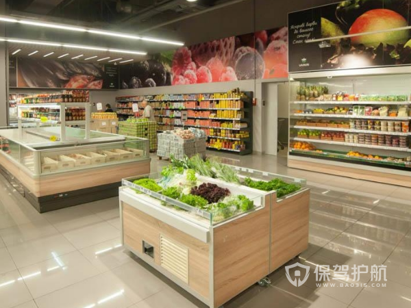 150平米水果超市装修设计效果图
