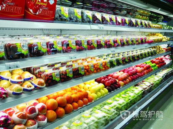 水果超市简单装修设计效果图