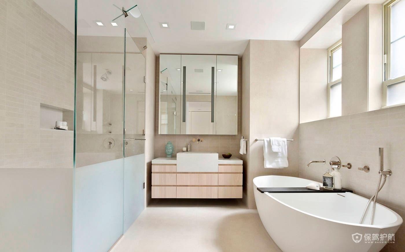 卫浴怎么装修设计?卫浴装修效果图