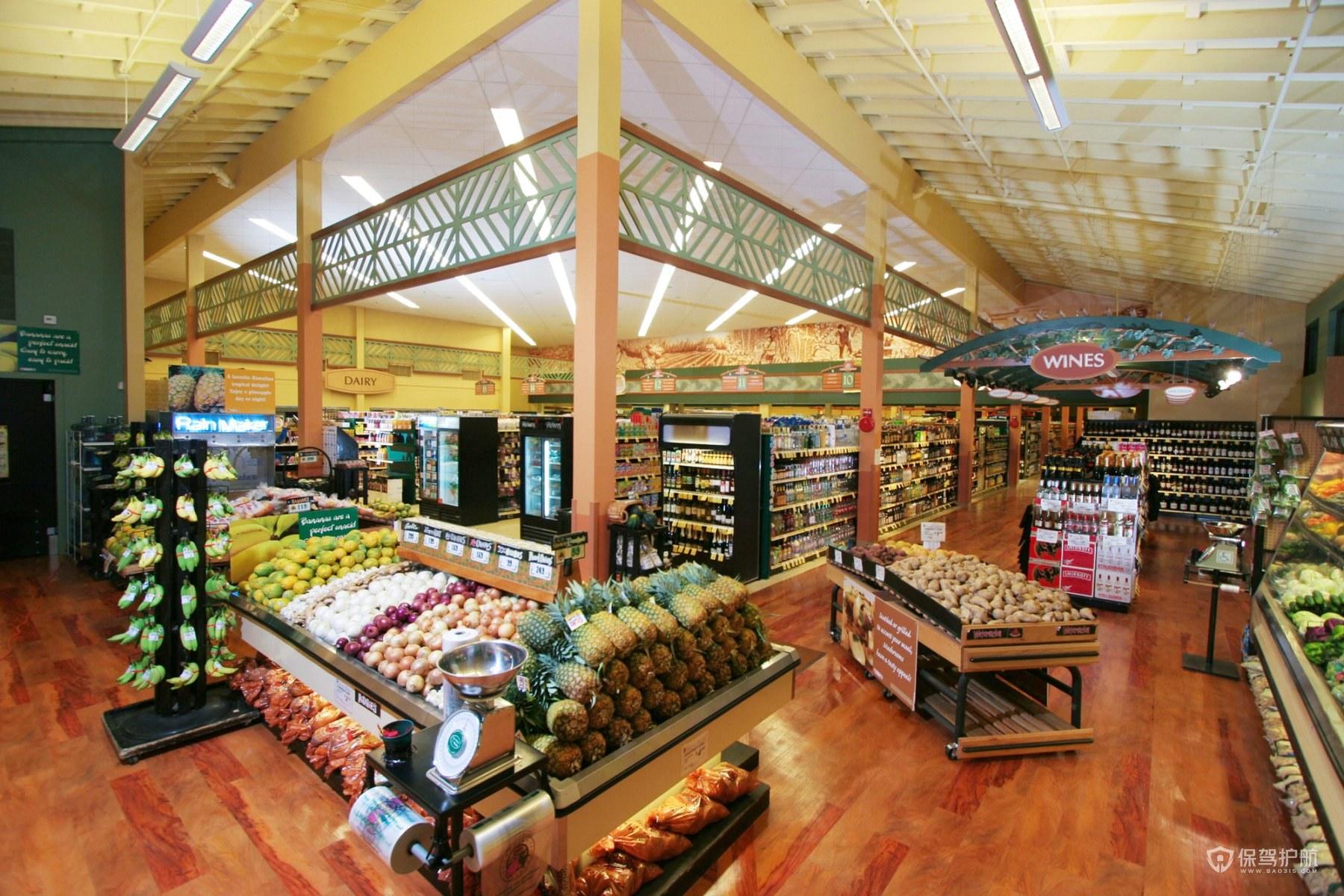 水果超市裝修效果圖