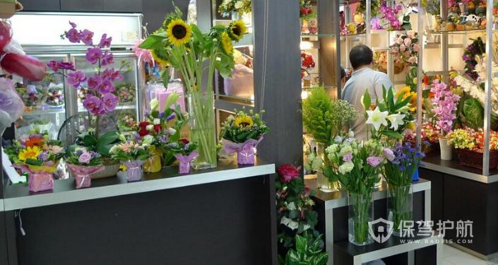 小型花店装修效果图
