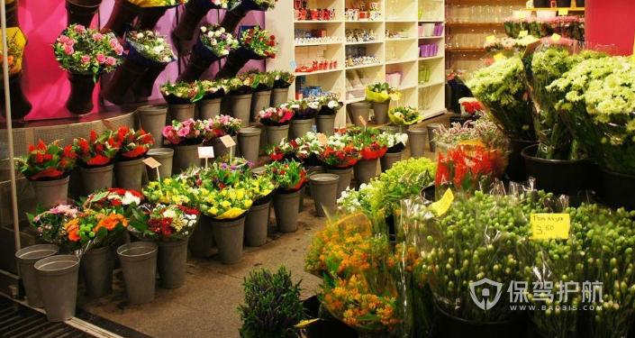 鲜花干花店装修效果图