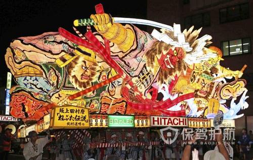 日本欢度睡魔节 6天吸引的游客超过200万人