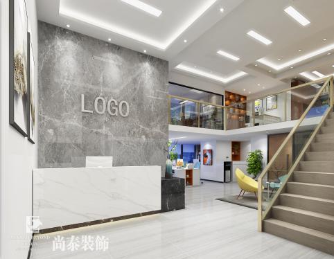 深圳市鹏安达建筑劳务有限公司办公室装修效果图