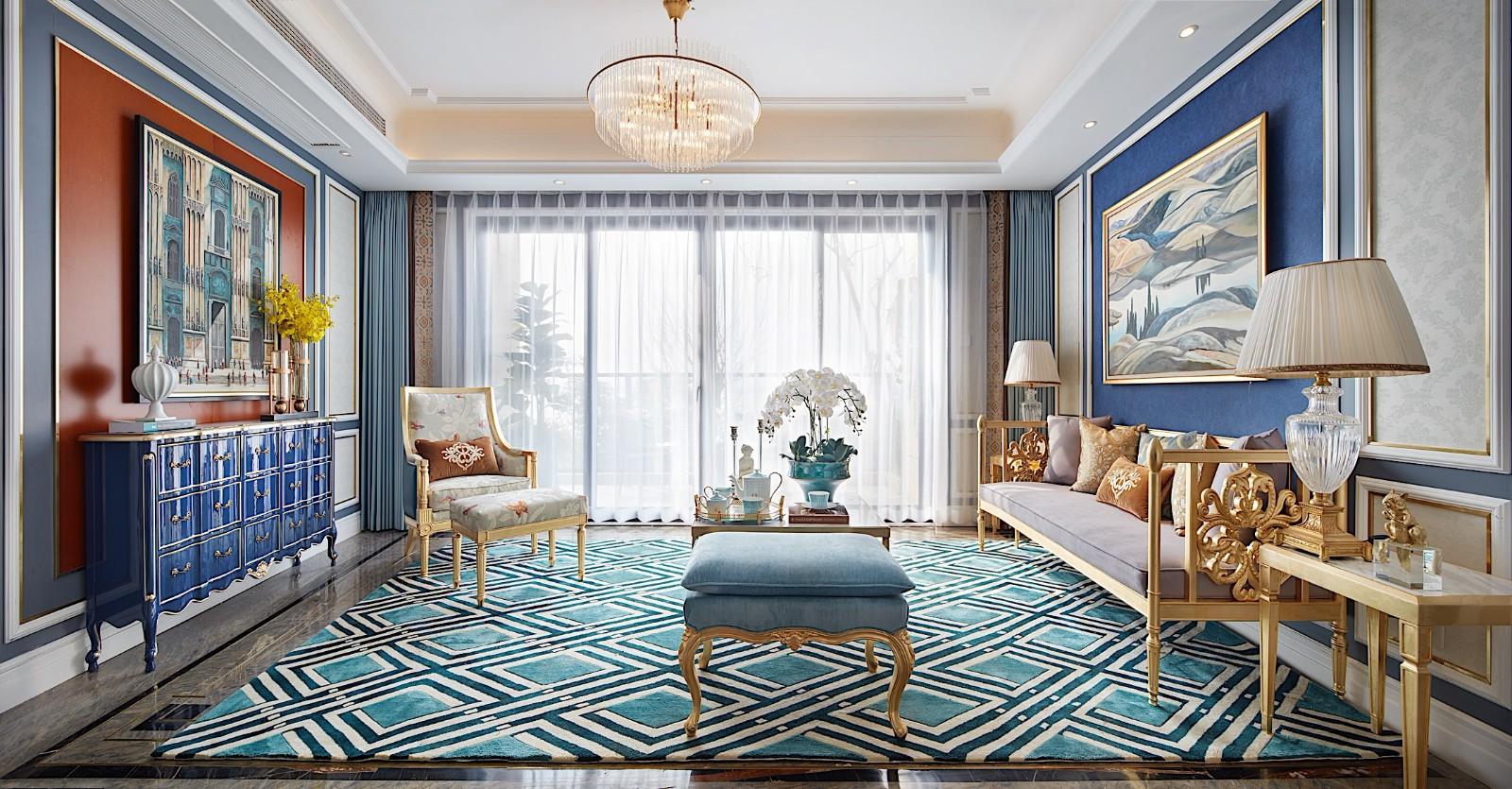 法式风格奢华空间装修效果图