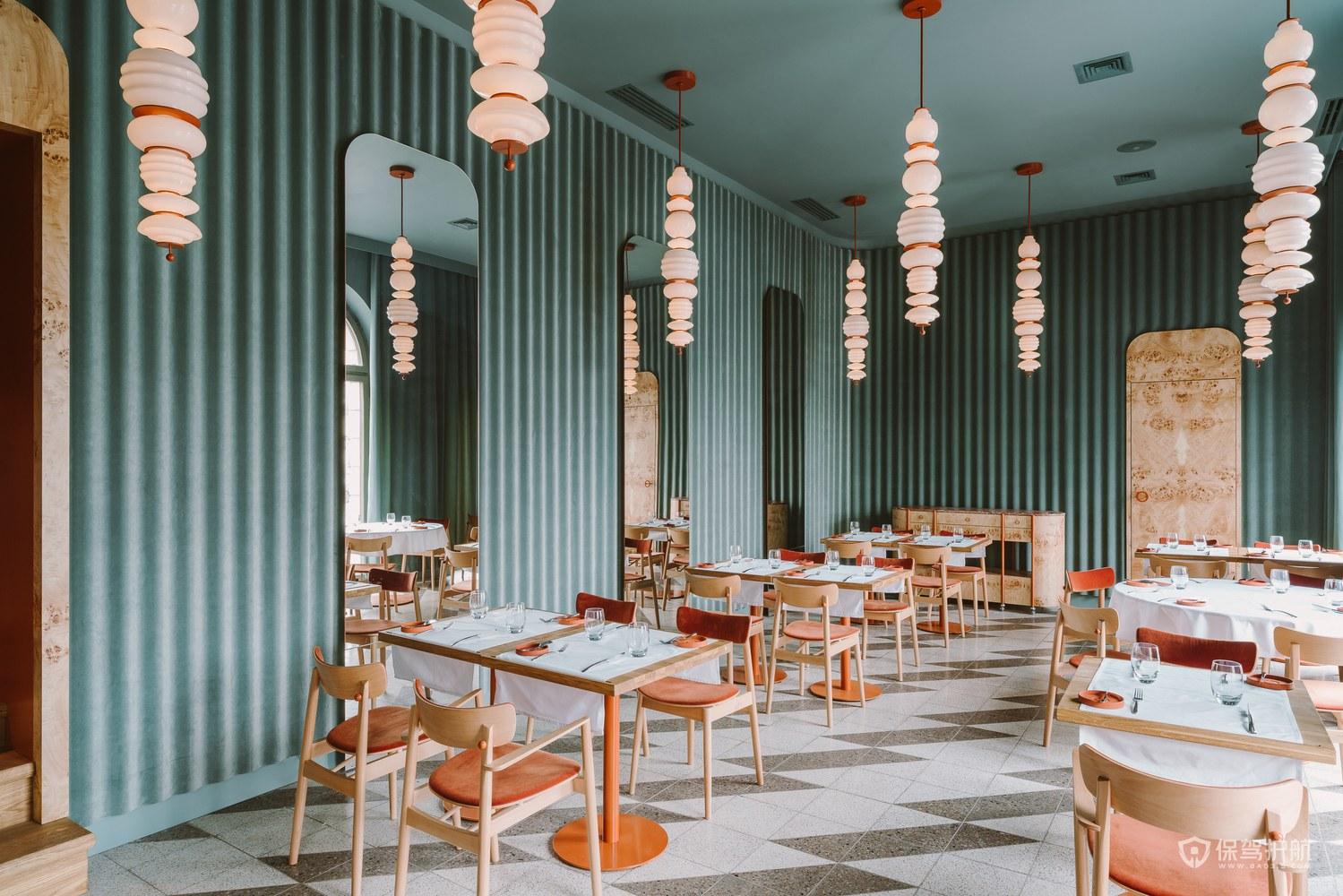 浪漫情調西餐廳裝修效果圖