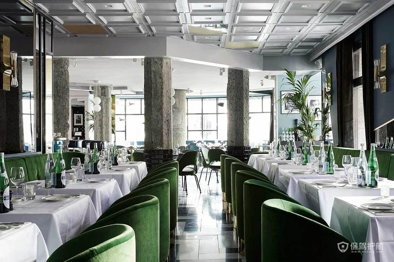 意大利清新餐厅装修效果图