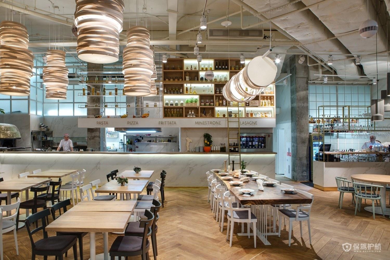意大利特色餐厅装修效果图