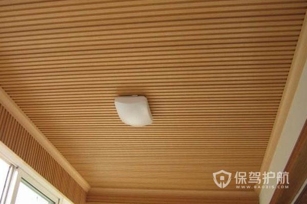 生態木吊頂安裝法,生態木吊頂效果圖