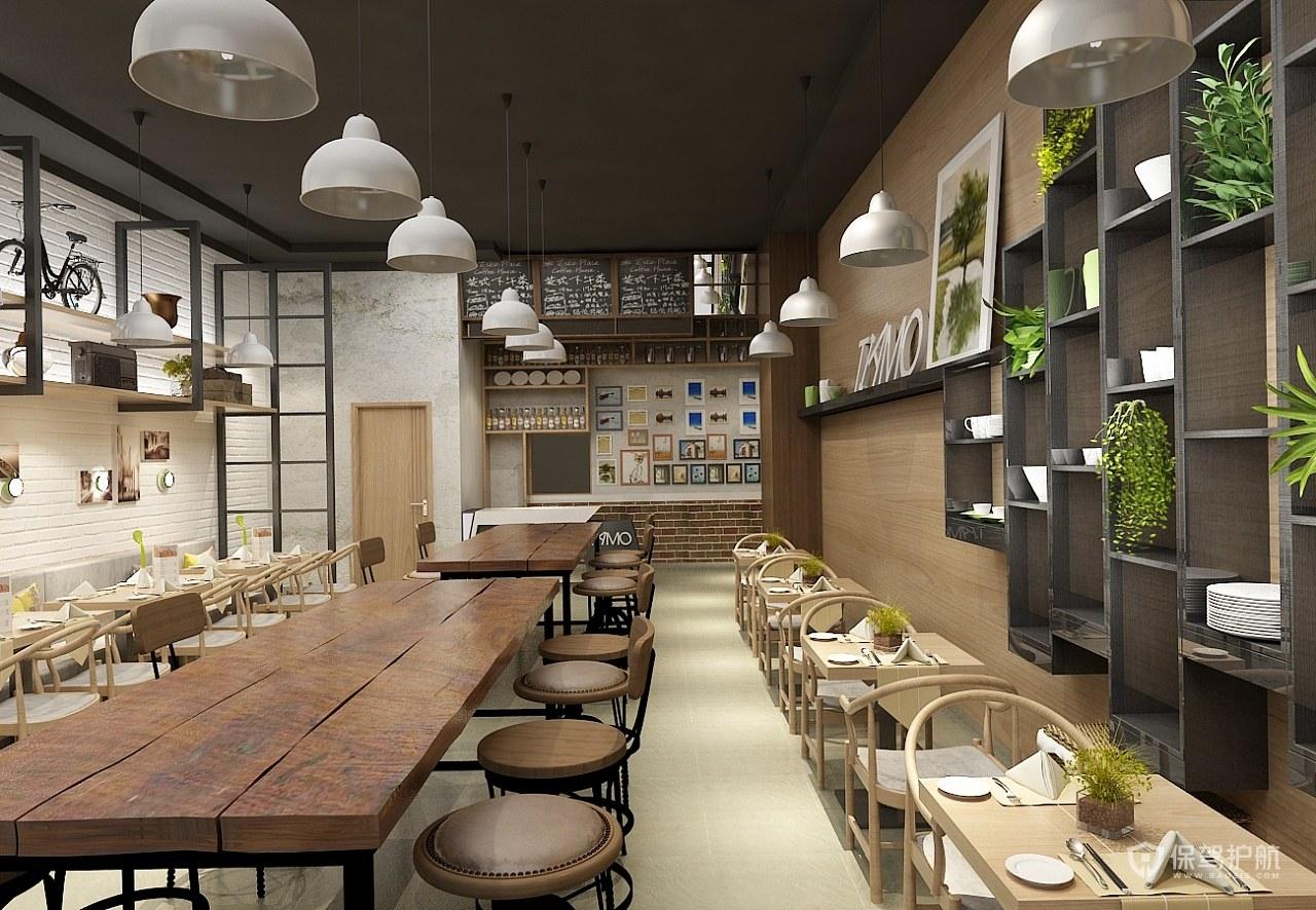 现代风格咖啡馆装修效果图