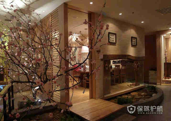 日式和风特色餐厅装修效果图
