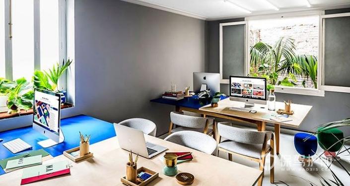 西班牙风格办公室装修效果图
