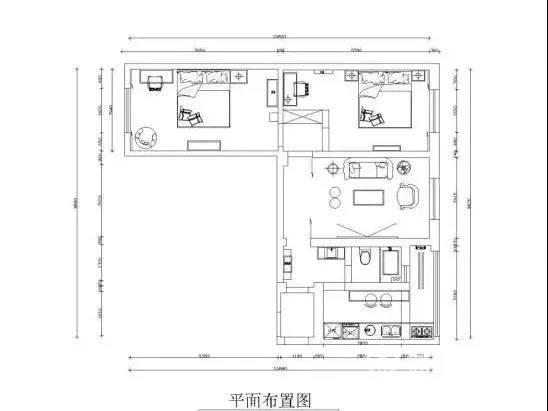 """厉害了!73㎡的日式小户型二居室装修,还自带""""私人影院""""!"""