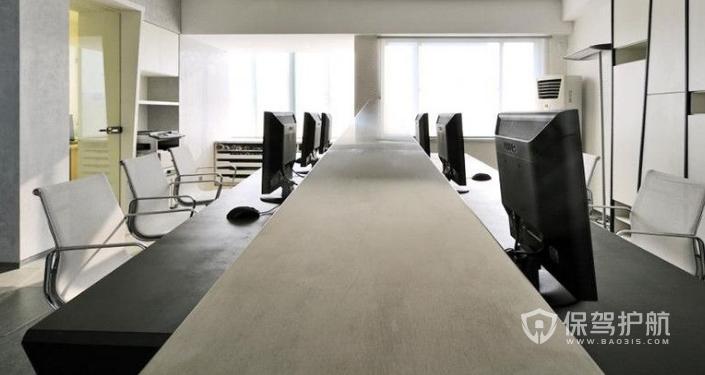 现代简约会议室装修效果图