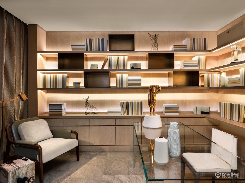 现代感十足书房装修效果图