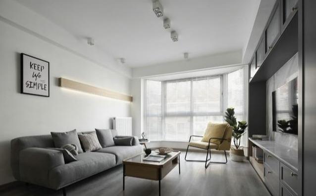 我家新房裝修終于完工,全屋軟硬裝38w,客廳背景墻保準你沒見過
