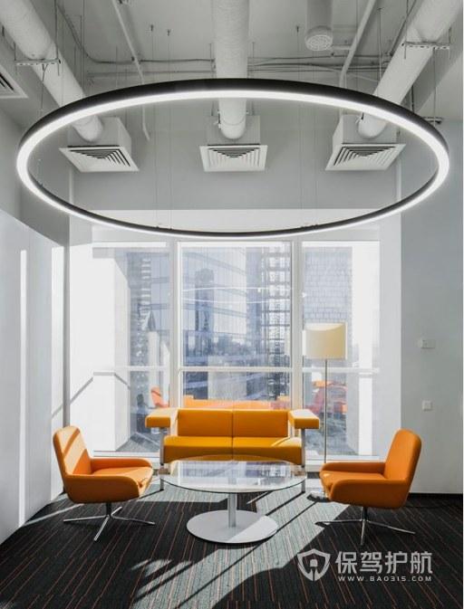 创意办公室接待区装修效果图