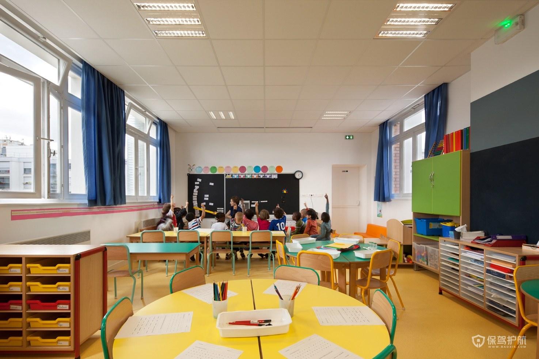 現代幼兒園裝修效果圖-保駕護航裝修網