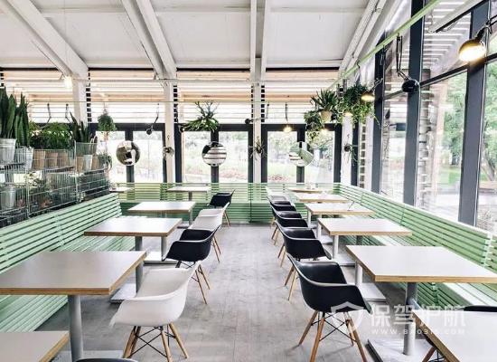 小清新风格咖啡屋装修效果图