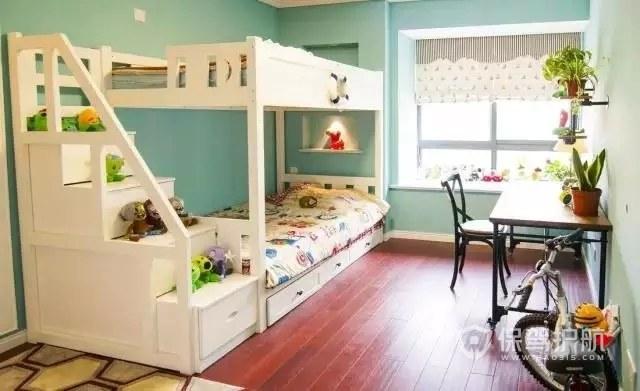 小户型上下床儿童房装修效果图
