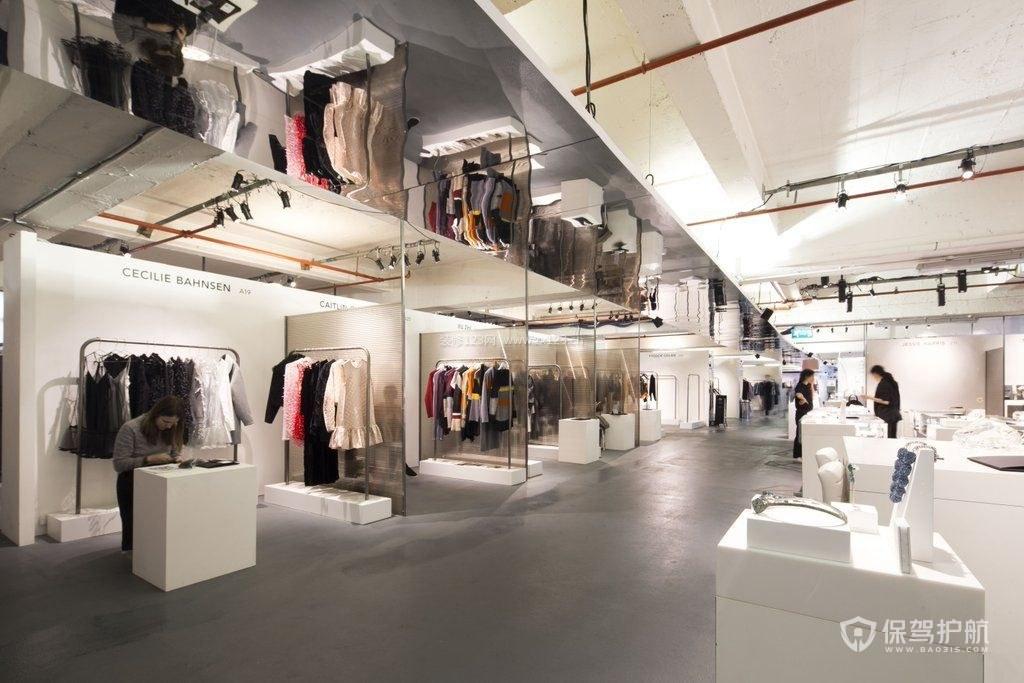 时尚服装店装修风格怎么选择?时尚服装店装修技巧