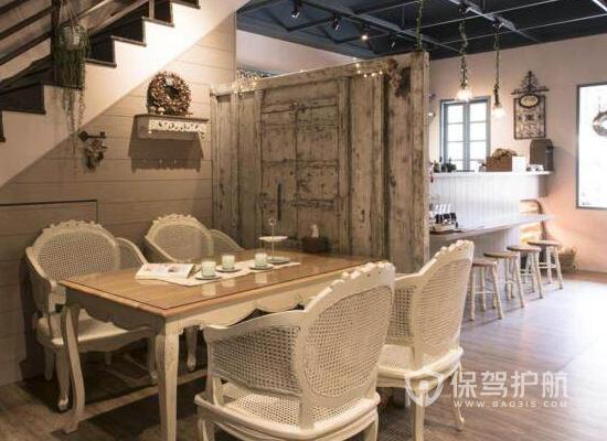 乡村风情咖啡厅装修效果图