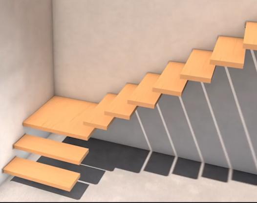 悬浮楼梯的做法 如何做到安全结实