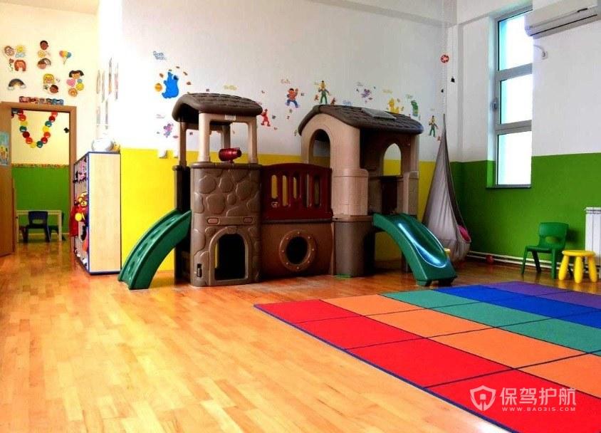 幼儿园安装木地板需要注意什么? 木质幼儿园装修效果图