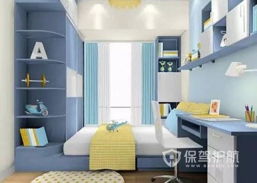 地中海小清新卧室装修效果图