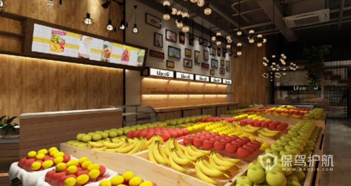 水果店装修预算,水果店装修注意事项