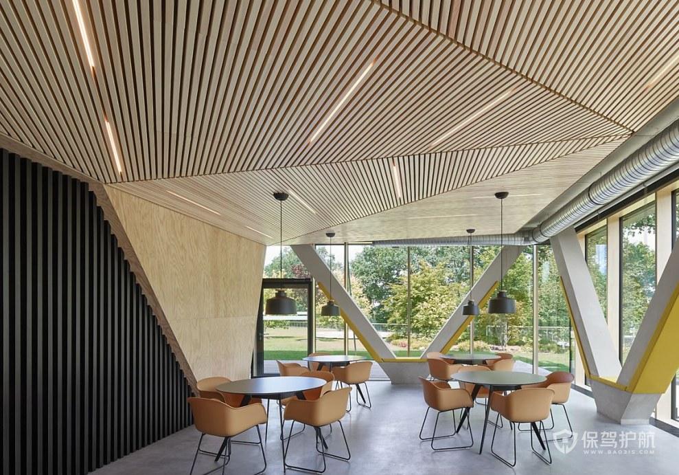 现代简约风办公室休闲区设计图