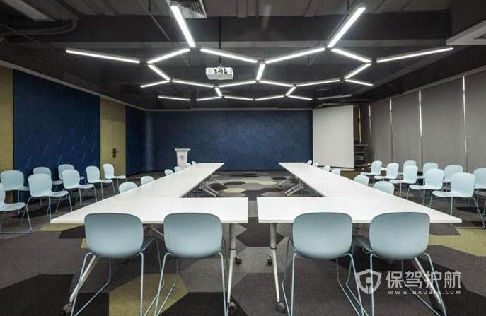 公司大会议室装修效果图