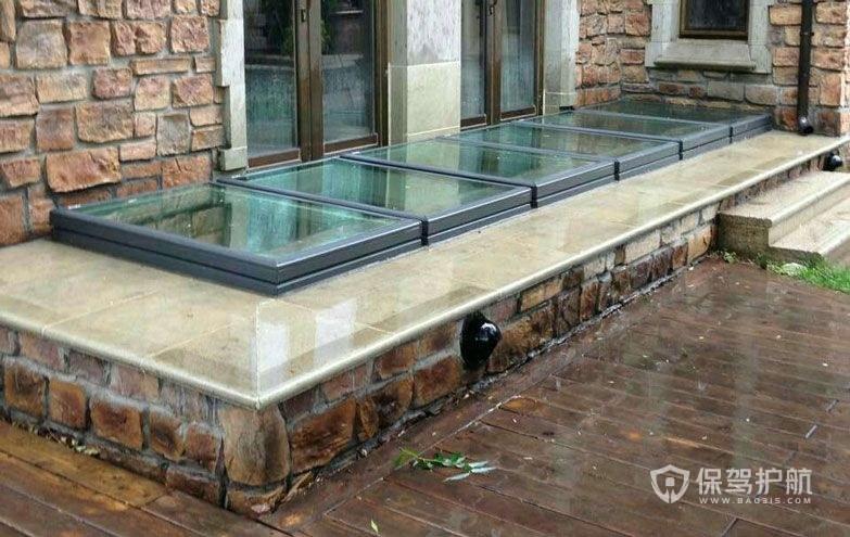 地下室透气窗安装效果图-保驾护航装修网