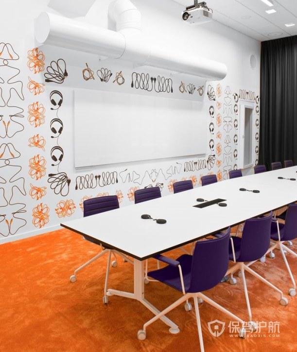 创意新媒体会议室装修效果图