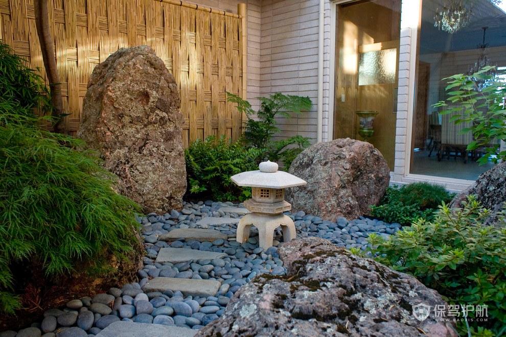 中式小花园装修效果图