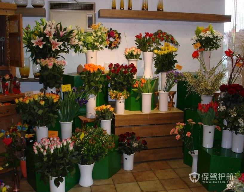 中式小花店装修效果图