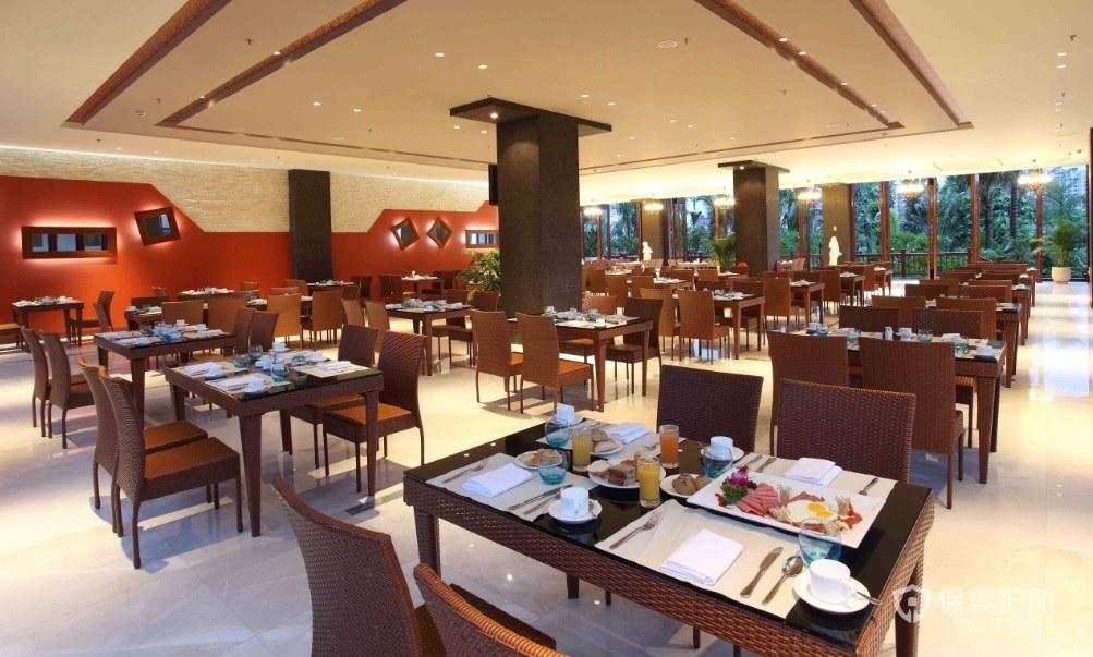 东南亚风餐厅装修效果图
