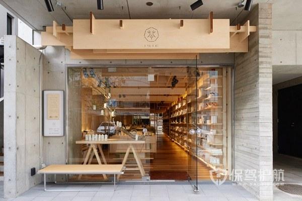韩式简约奶茶店装修实景图