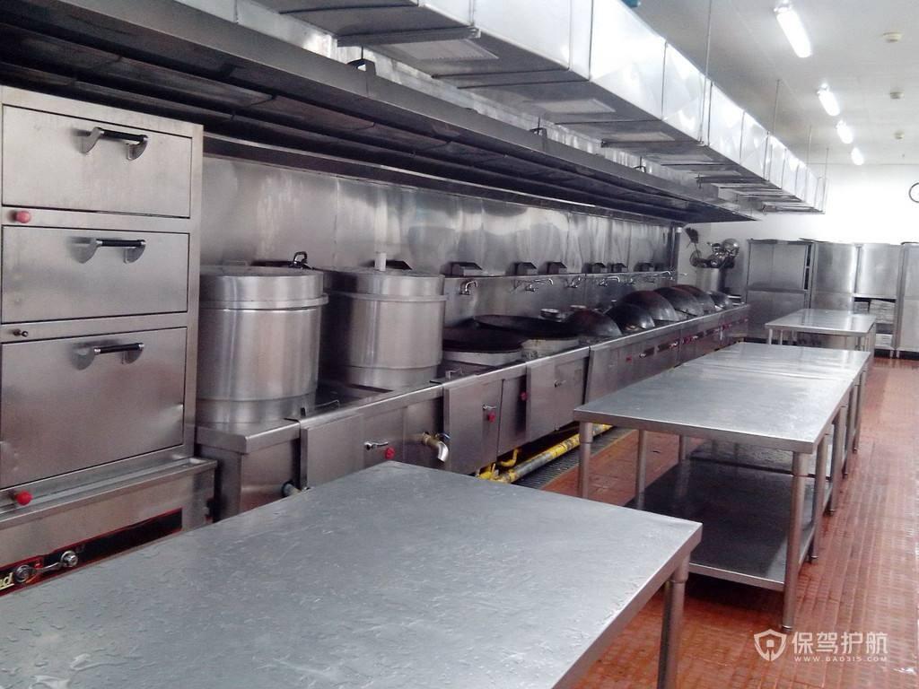 酒楼厨房怎么设计好?酒楼厨房设计效果图