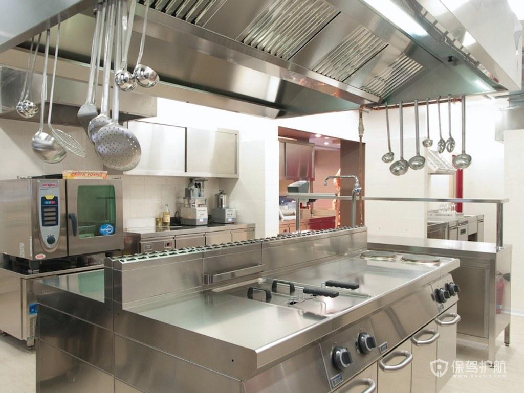 小型饭店厨房怎么装修?小型饭店厨房真实照片