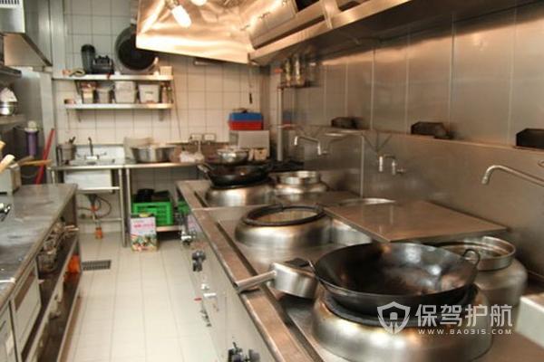 小餐馆厨房怎么装修?小餐馆厨房的照片