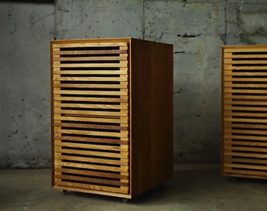 实木家具柜 自己动手DIY的过程也很有趣