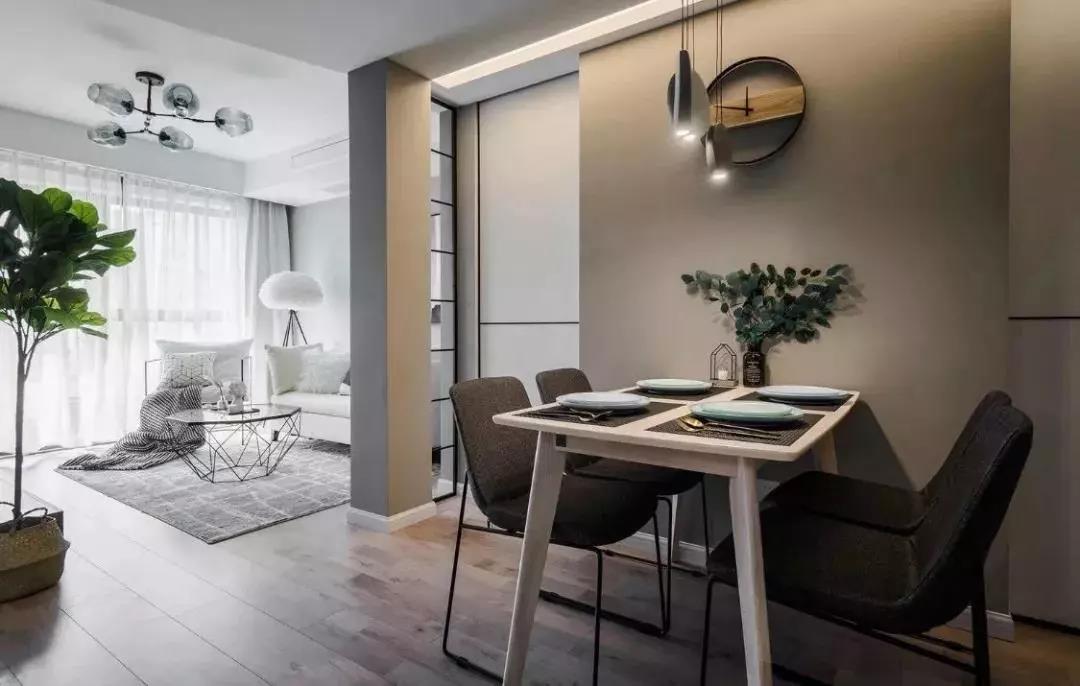 90后小夫妻的80㎡的二居室裝修,這樣的客廳設計超級耐看!