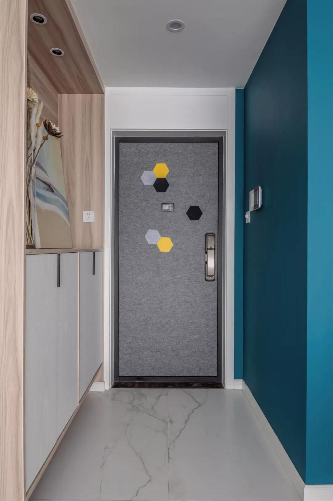 110㎡北欧风格格调3室2厅装修效果图,自然随性的质感生活