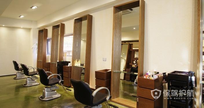 美发店装修步骤有哪些?美发店装修效果图
