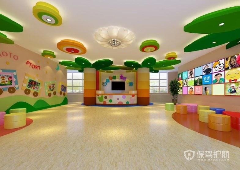 幼儿园怎么装修吸引人? 幼儿园装修效果图