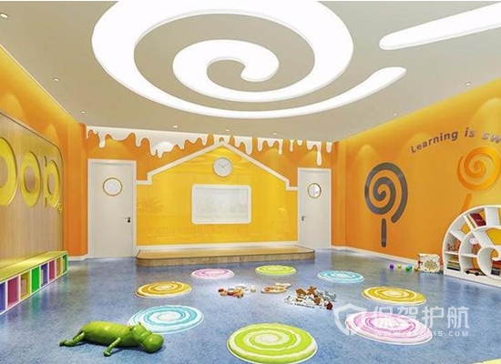 大型幼儿园活动室装修效果图