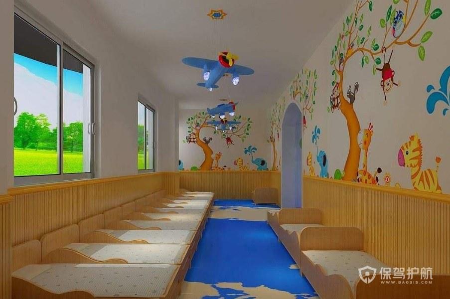幼儿园布局有哪些注意事项? 幼儿园布局效果图