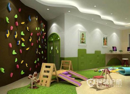 大型幼儿园娱乐室装修效果图