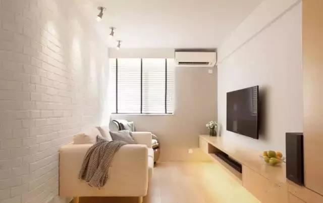 45平怎么装两房两厅?看完这套香港小公寓装修案例你就知道了!